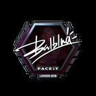 Sticker | balblna (Foil) | London 2018