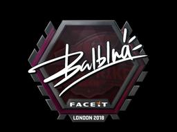Наклейка | balblna | Лондон 2018