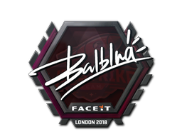 Sticker | balblna | London 2018