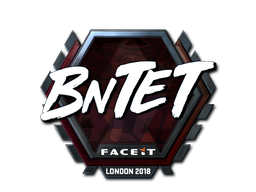 Sticker | BnTeT (Foil) | London 2018