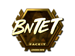 Sticker   BnTeT (Gold)   London 2018