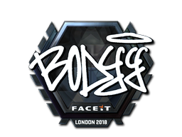 Наклейка | bodyy (металлическая) | Лондон 2018