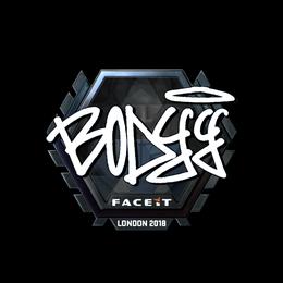 bodyy (Foil)   London 2018