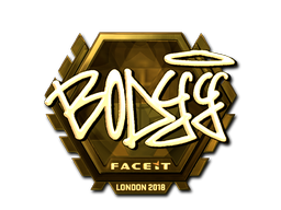 Sticker | bodyy (Gold) | London 2018