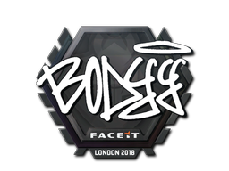 Sticker | bodyy | London 2018