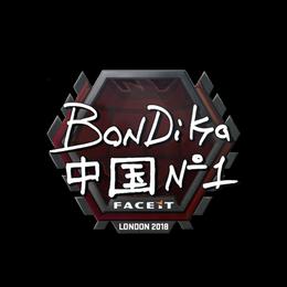 bondik | London 2018