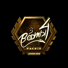 Boombl4 (Gold) | London 2018