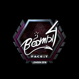 Boombl4 (Foil) | London 2018