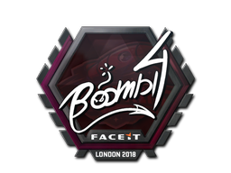Sticker | Boombl4 | London 2018