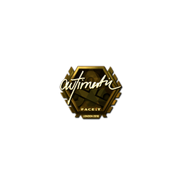 Sticker | autimatic (Gold) | London 2018