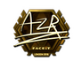 Skin Sticker | AZR (Gold) | London 2018