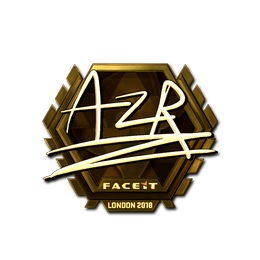 AZR (Gold) | London 2018