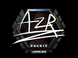 Sticker   AZR (Foil)   London 2018