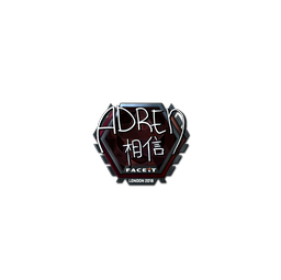 Sticker | AdreN (Foil) | London 2018