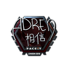 Sticker | AdreN (Foil) | London 2018