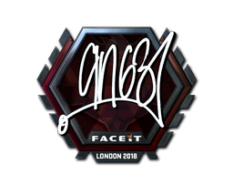 Sticker | ANGE1 (Foil) | London 2018