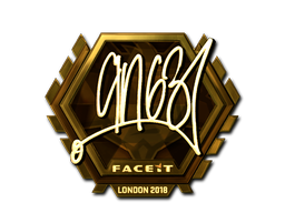Sticker | ANGE1 (Gold) | London 2018