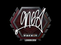 Sticker   ANGE1   London 2018