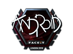 Sticker | ANDROID (Foil) | London 2018