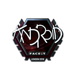 ANDROID (Foil)   London 2018