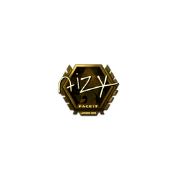 Sticker | aizy (Gold) | London 2018