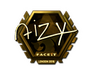 Skin Sticker | aizy (Gold) | London 2018