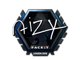 Sticker | aizy (Foil) | London 2018