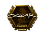 Skin Sticker | oskar (Gold) | London 2018