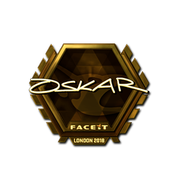 oskar (Gold) | London 2018