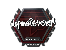 Sticker | olofmeister | London 2018
