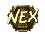 Skin Sticker | nex (Gold) | London 2018