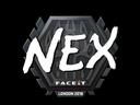 Sticker | nex | London 2018