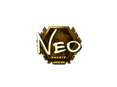 Skin Sticker | NEO (Gold) | London 2018