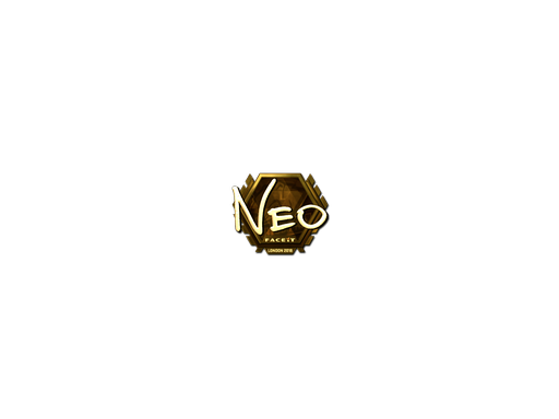 Sticker | NEO (Gold) | London 2018