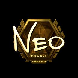 NEO (Gold) | London 2018