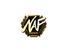 Skin Sticker | NAF (Gold) | London 2018