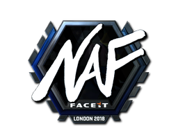 Sticker | NAF (Foil) | London 2018