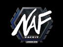 Sticker | NAF | London 2018