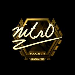 nitr0 (Gold) | London 2018