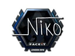 Sticker | niko (Foil)  | London 2018