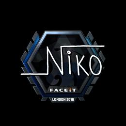 niko (Foil)  | London 2018