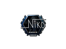 Skin Sticker | niko (Foil)  | London 2018