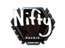 Skin Sticker | Nifty (Foil) | London 2018