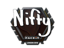 Sticker | Nifty | London 2018