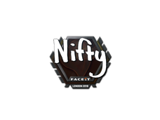 Skin Sticker | Nifty | London 2018