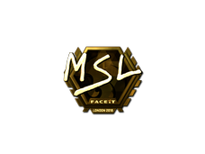 Skin Sticker | MSL (Gold) | London 2018