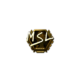 Sticker | MSL (Gold) | London 2018