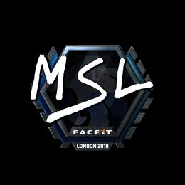 MSL (Foil) | London 2018