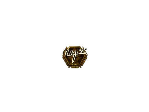 Sticker | Magisk (Gold) | London 2018
