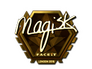 Skin Sticker | Magisk (Gold) | London 2018